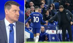 Chelsea news: Antonio Conte told to make big Eden Hazard decision Chelsea News, Antonio Conte, Eden Hazard, Southampton, Football, Baseball Cards, Big, Sports, Soccer