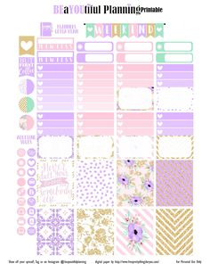 Hello Planner Girls This week's theme is using digital papers you can get from SO SO pretty. The quote is from LetteraEtc's Etsy shop really hope that you like it. I will have a 4th of…