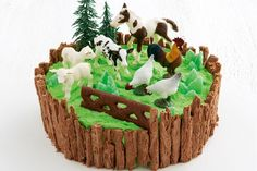 Farmyard cake main image