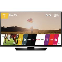 """Buy LG 49LF630V LED HD 1080p Smart TV, 49"""" with Freeview HD and Built-In Wi-Fi Online at johnlewis.com"""