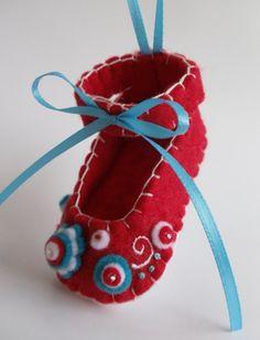 Felt Shoe Ornament
