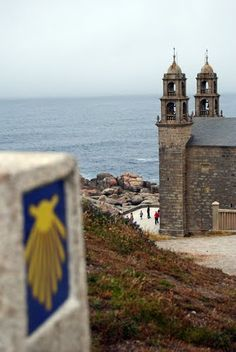 Camino Fisterra Muxia A Coruña  Spain. Would love to continue on to Muxia on my next Camino.