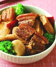 【食譜】客家菜脯滷肉:www.ytower.com.tw