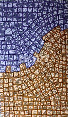 Tingari Dreaming by Australian artist Thomas Tjapaltjarri