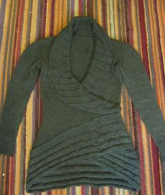 GOOD NEWS! I have written up a graded, sized pattern for this that has been tech edited, test knit and has improvements for shaping for the shawl collar and front. It's available here and it's called Cable Hugger free pattern Knitting Patterns Free, Knit Patterns, Free Knitting, Free Pattern, Mode Crochet, Knit Or Crochet, Handgestrickte Pullover, Ravelry, Crochet Clothes