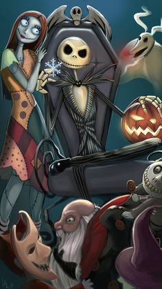 Nightmare Before Christmas Pictures, Nightmare Before Christmas Wallpaper, Nightmare Before Christmas Tattoo, Arte Tim Burton, Tim Burton Films, Halloween Drawings, Halloween Art, Jack Skellington, Desenhos Tim Burton
