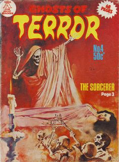 Cover for Ghosts of Terror (Gredown, 1976 ? series) #3