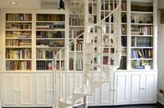 More white...but so appealing...especially all the books! :)