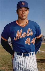 The Mets' Ron Darling (boy did I have a crush on him!)
