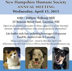 NH Humane Society Annual Meeting