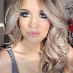 Love this blonde! If my hair wasn't ready to fall out of my head I would do this color next!