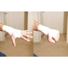 How to Wrap a Wrist With Athletic Tape featuring polyvore