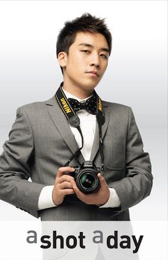 "Seungri ♡ #BIGBANG for Nikon ""A Shot A Day"" Ads 2011"