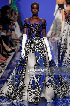 Georges Chakra Haute Couture Fall/Winter 2015/2016 on July 7, 2015 in Paris, France.