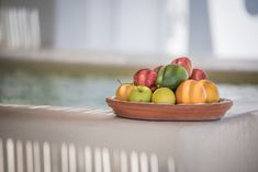 Sunny Vacation in Naxos Island - Holiday Naxos Luxury Villas Vacation Homes For Rent, Naxos Greece, Luxury Villa, Beautiful Islands, Fresh Fruit, Serving Bowls, Tableware, Holiday, Luxury Condo