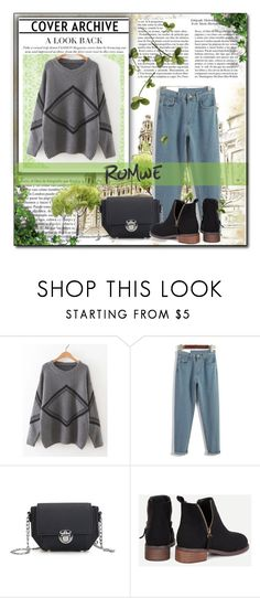 """Romwe contest"" by medinicab ❤ liked on Polyvore featuring Whiteley"