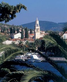 Vela Luka, Island of Korcula, Croatia. My second home Places To Travel, Places To See, Vela Luka, Wonderful Places, Beautiful Places, Korcula Croatia, Bosnia, Montenegro, Homeland