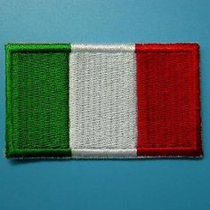Italy flag #italian iron on sew patch #applique #badge embroidered biker #applique,  View more on the LINK: http://www.zeppy.io/product/gb/2/231530138574/