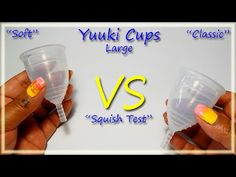 "Yuuki Soft & Classic ""Squish Test"" - #menstrualcups #mycupsonfleek #RHSquish"