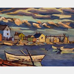 Frederick Banting - Fort Resolution x Oil on panel Frederick Banting, Oil, Painting, Painting Art, Paintings, Painted Canvas, Drawings, Butter