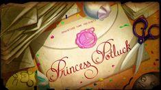 Princess Potluck (S5, E18) title card