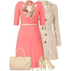 A fashion look from December 2013 featuring elbow sleeve dress, metallic pointed toe pumps and Kate Spade. Browse and shop related looks.