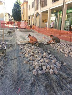 Noi che le strade le realizziamo anche in pietra #impresaluivatce