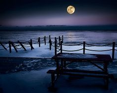 Full Moon ~ New Brunswick, Canada