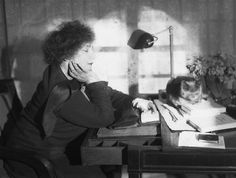 "Colette on cats… ""There are no ordinary cats."" ""Time spent with cats is never wasted.""  ""Dogs believe they are human. Cats believe they are God."""
