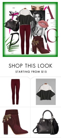 """~magical day~"" by lejla14 ❤ liked on Polyvore featuring Hudson, Aquazzura, Vince Camuto and Lime Crime"
