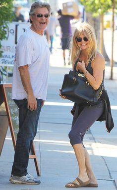 Kurt Russell & Goldie Hawn from The Big Picture: Today's Hot Pics The golden couple enjoys lunch at the Brentwood Country Mart in L.'s Brentwood neighborhood. Goldie Hawn Kurt Russell, Brentwood Country Mart, John Mellencamp, Meg Ryan, Christie Brinkley, Reese Witherspoon, Celebs, Celebrities, Celebrity Couples