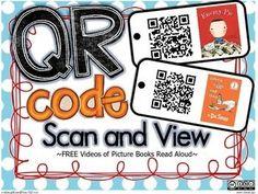 QR printable codes for the listening center tablets Kindergarten Reading, Teaching Reading, Guided Reading, Teaching Ideas, Guided Math, Learning, Teaching Resources, Listening Station, Listening Centers