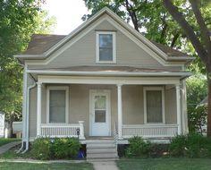 Jasper Newton Bell House in Lancaster County, Nebraska. Lancaster County, Nebraska, Jasper