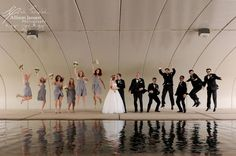 Fun Wedding Party Pose | Allison Jansen Photography http://www.weddingphotousa.com/alabama/allison-jansen-huntsville-al-wedding-photographer.php