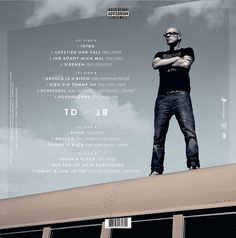 Christoph Köstlin - Thomas D - Aufstieg und Fall des Tommy Blank // 03 // cd cover // sony music