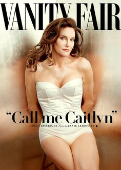 Bruce Jenner is on the cover of Vanity Fair as Caitlyn Jenner.