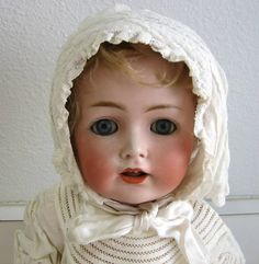 Antique JDK Kestner 257 bisque baby doll