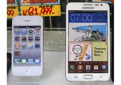 ITC judge says Samsung infringes key part of Apple patent    Samsung Electronics Co Ltd infringed a key portion of an Apple Inc patent by including a text-selection feature in its smartphones and tablets, an International Trade Commission judge said in a preliminary decision.    South Korean-based Samsung did not infringe portions of a second Apple patent that allows a device to detect if a microphone or other device is plugged into its microphone jack