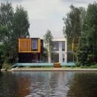 Yachtsman House in Moscow region, Russia.