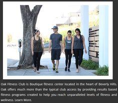 #OakFitnessClub #FitnessTrainers #LosAngeles