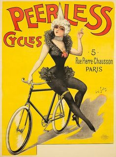 Peerless Cycles, poster by Louis Galice, c.1892