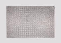 metallic gunmetal leather placemat from maven northwest