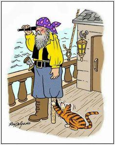 *A cat lover's funny! Funny Cat Jokes, Funny Cartoons, Cat Memes, Funny Cats, Funny Animals, Cute Animals, Hilarious, Crazy Cat Lady, Crazy Cats