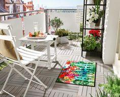 """Gefällt 19 Mal, 1 Kommentare - by Kleen-Tex (@wash_and_dry_floorfashion) auf Instagram: """"Ab ins Wochenende und raus in die Sonne ☀️- Balkonmöbel entwintern und den Frühling genießen🍀Wir…"""" Outdoor Furniture Sets, Outdoor Decor, Terrace Garden, Instagram Posts, Design, Home Decor, Products, Ebay, Asylum"""
