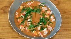 Receta de crema de gambas Salsa Verde, Thai Red Curry, Ethnic Recipes, Food, Raspberry Tarts, Pineapple Pie, Cinnamon Rolls, Essen, Meals