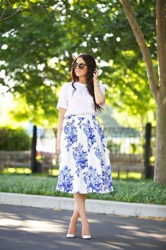 Midi Skirts That'll Show off Your Feminine Side ...