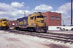 ATSF #2451 - a homebuilt EMD CF7- takes a rest at Wichita, KS in May 1981.