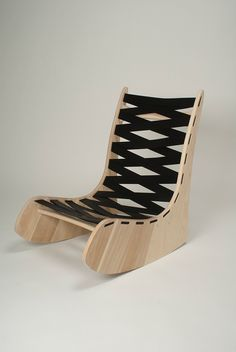 Plywood rocking chair #cnc #chairs http://cnc.gallery/