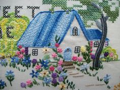 Home Sweeet Home from Hayfield Cottage Blogspot