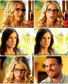 Arrow - Oliver & Felicity #4.1 #Season4 #Olicity :)
